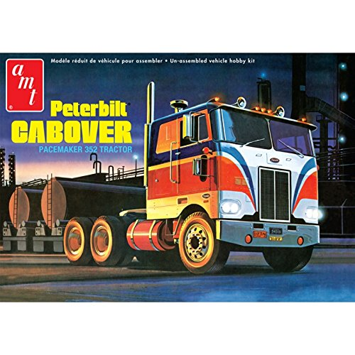 - AMT 1:25 Scale Peterbilt Cabover Pacemaker 352