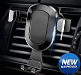 Phone Holder for Car , Universal Air Vent Mount Cradle Smart No-Touch Design for iPhone Samsung and Other Smart Cellphone by HonShoop