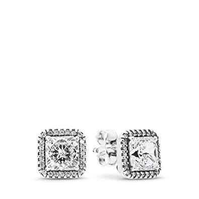 ea72fb43d Image Unavailable. Image not available for. Color: PANDORA Timeless  Elegance Stud Earrings ...