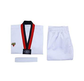GHKWXUE Traje de Karate/Hijos Adultos de Karate algodón del ...