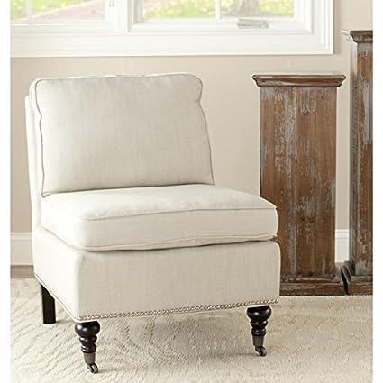 Safavieh Mercer Collection Randy Slipper Chair, Off White