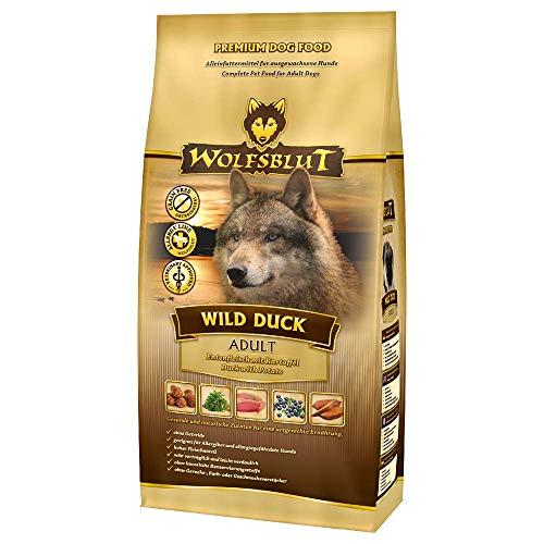 Wolfsblut – Wild Duck Adult – 15 kg – Ente – Trockenfutter – Hundefutter – Getreidefrei