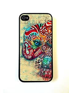 Cute Elephant iphone 4 Cover Iphone 4s Case - For iphone 4 Cover Iphone 4s - ...