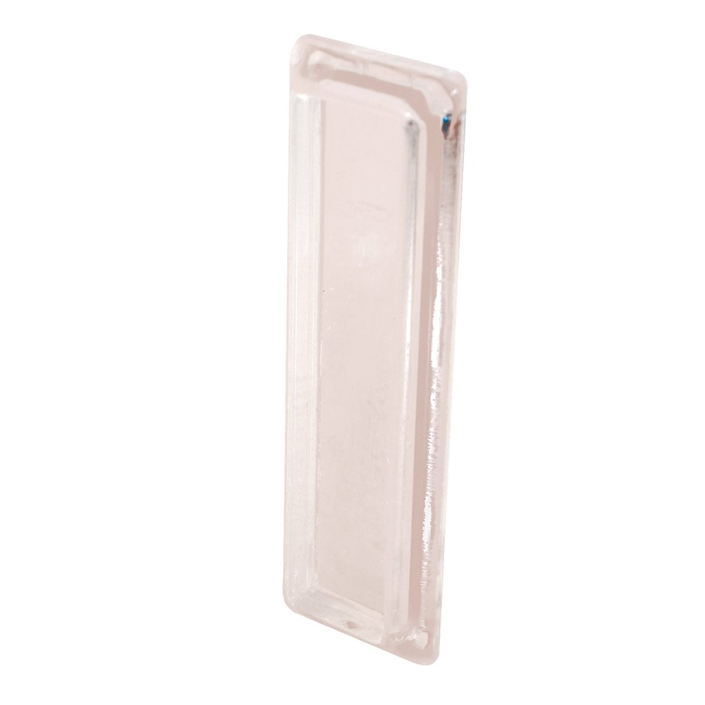 Prime-Line Products F 2549 Self-Adhesive Window Finger Pull, Clear Plastic