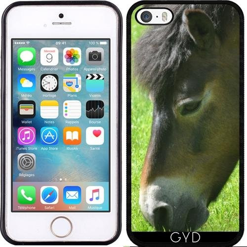 Coque pour Iphone SE - Poney - Cheval by Digital-Art