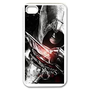 iPhone 4,4S Phone Case White Assassin's Creed V8774336