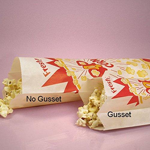 [Mememall Fashion Vintage Retra Paper Popcorn Bags Sacks Snack Movie Theatre Home Style Favor Lot] (Paper Bag Princess Couples Costume)