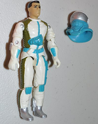 Vintage Countdown with Mask (v1) - G.I.Joe 1989 Hasbro - Action Figure - Doll Toy G I Joe Cobra - Loose Out of Package & Print (OOP)
