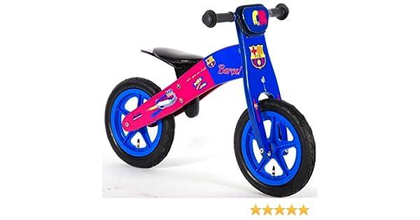 bicicleta para niño de madera sin pedales FC Barcelona 12 pulgada ...