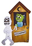 Halloween Monster Outhouse Inflatable