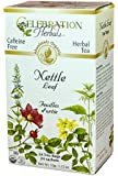 Celebration Herbals Organic Nettle Leaf Tea Caffeine Free, Feuilles D'ortie -- 24 Herbal Tea Bags