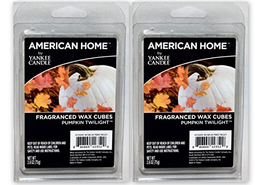 New  6pc PUMPKIN TWILIGHT SCENT American Home Yankee Candle