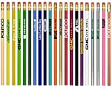 250 Personalized Round Wooden #2 Pencils with Your Company / School Logo or Message