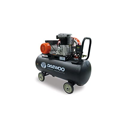 Daewoo DAC100C - Compresor Eléctrico 3HP, 100 L , 240V, Correas