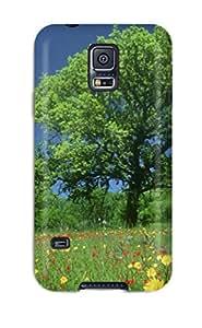 Unique Design Galaxy S5 Durable Tpu Case Cover Texas Wildflowers