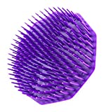 Scalpmaster Shampoo Brush, Purple 1 Count