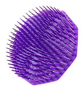 Scalpmaster Shampoo Brush, Purple 1 Count