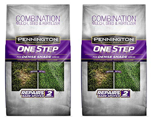 Pennington 100520284 One Step Complete Bare Spot Repair Grass Seed Mix for Dense Shade Areas, 8.3 lbs (Тwо Расk)