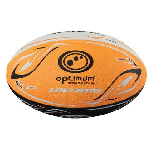 2 opinioni per Optimum- Pallone da rugby, motivo: Inferno