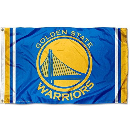 WinCraft NBA Golden State Warriors 3x5 Banner Flag by WinCraft