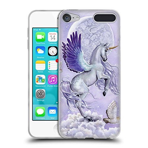 Price comparison product image Official Selina Fenech Moonshine Unicorns Soft Gel Case for Apple iPod Touch 6G 6th Gen
