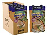 Three Dog Bakery Entree For Dogs, Chicken Carrots Green Beans and Rice Recipe, 12 ounces, 7/pack, My Pet Supplies