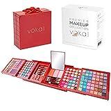 Vokai Makeup Kit Gift Set – 168 Eye Shadow Colors 6 Lip Glosses