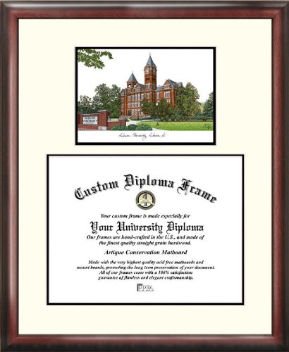 Auburn University Tigers Scholar Diploma (Auburn Tigers Photo Plaque)