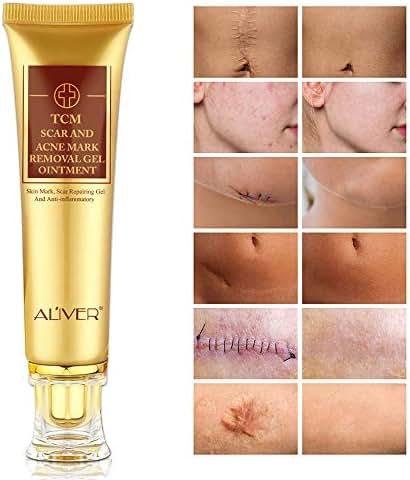 Acne Scar Removal Cream, TCM Scar and Acne Mark Removal Gel, skin mark, Scar Repairring Gel and Anti-inflammatory, Face Skin Repair Cream, Blackhead Whitening Cream Stretch Marks(30ml)