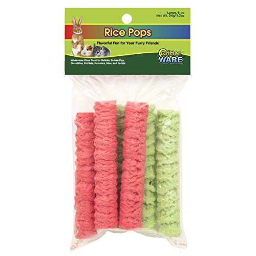 Ware Manufacturing Rice Pops Small Animal Chew Treat - Large