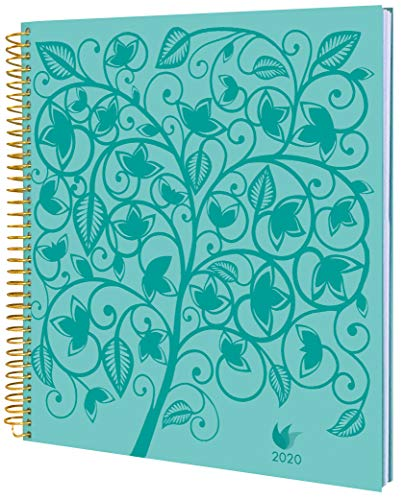 Daily Goal & Life Planner - Weekly & Monthly Organizer, Appointment Book & Journal, 2020 January - December - Hard Cover - by InnerGuide