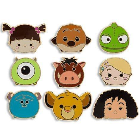 (Disney ''Tsum Tsum'' Limited Edition Pin Set)