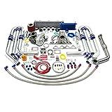 acura turbo kit - High Performance Upgrade T04E T3 DSM 22pc Turbo Kit - Honda B-Series Engine