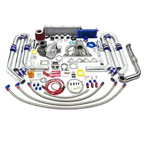 High Performance Upgrade T04E T3 DSM 22pc Turbo Kit - Honda B-Series Engine