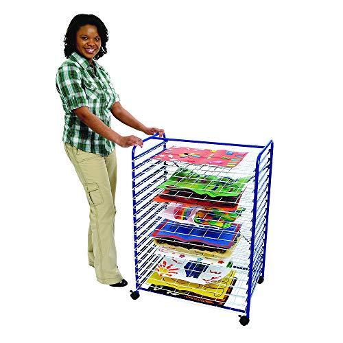 "Colorations Mobile Art Drying Rack Sturdy Lightweight 36 1/2""H x 26 1/2""W x 17 1/2""D (Item # MOBRACK)"