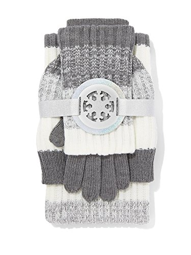 New York & Co. 4-In-1 Convertible Cold Weather Medium Heather Grey