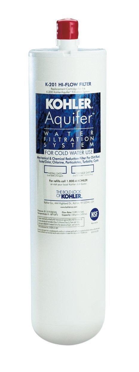 KOHLER K-201-NA Aquifer High-Flow Refill Filter Cartridge