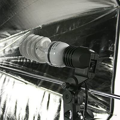 ePhoto Photograph Video Film Studio Photo Umbrella with 3 Point Continuous lighting Light Kit ULSDK3SV