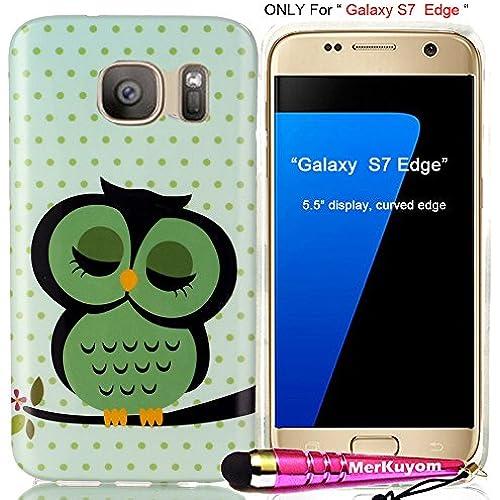 Fit [Galaxy S7 Edge], Galaxy S7 Edge Case, MerKuyom Package- [Slim-fit] [Flexible Gel] Soft TPU Case Skin Rubber Cover For Samsung Galaxy S7 Edge, W Sales
