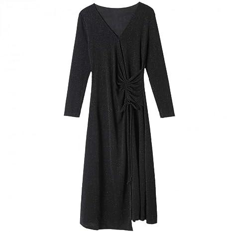 BINGQZ Casual Vestido Vestido de Noche, Vestido de Primavera y ...
