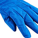 Cryogenic Gloves Low Temperature Resistant LN2 Cold proof Nitrogen Protective Gloves Mid-Arm