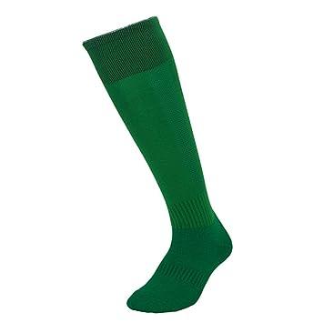 Medias de color sólido atléticas hasta la rodilla, color sólido ...