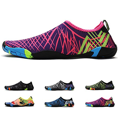 Y.Y Water Shoes for Men Women, Barefoot Shoes, Quick Dry Aqua Socks for Beach Swim Surf Yoga Exercise (13US Women/12US Men=11.7