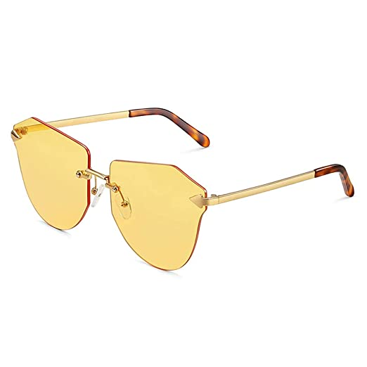 Gafas de sol Aviador Vogue UV Running película Colorida ...