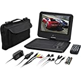 GPX PD901VPB Portable DVD Player - 9'' Display - 800 x 480 - Black
