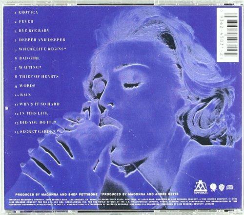 erotic album Madonna