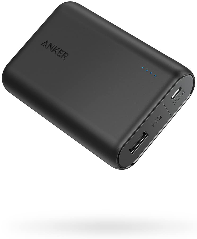 Anker PowerCore 10000 Portable Charger, One of The Smallest and Lightest