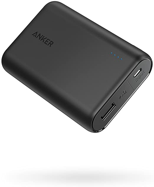 Amazon.com: Anker PowerCore 10000 Portable Charger, One of The Smallest and Lightest 10000mAh Power Bank, Ultra-Compact Battery Pack, High-Speed Charging Technology Phone Charger for iPhone, Samsung and More.