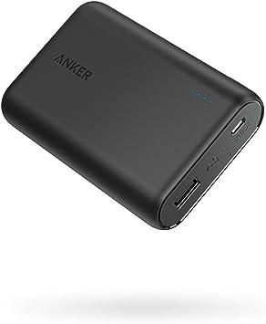 Anker PowerCore 10000 10000mAh Negro batería Externa: Amazon.es ...