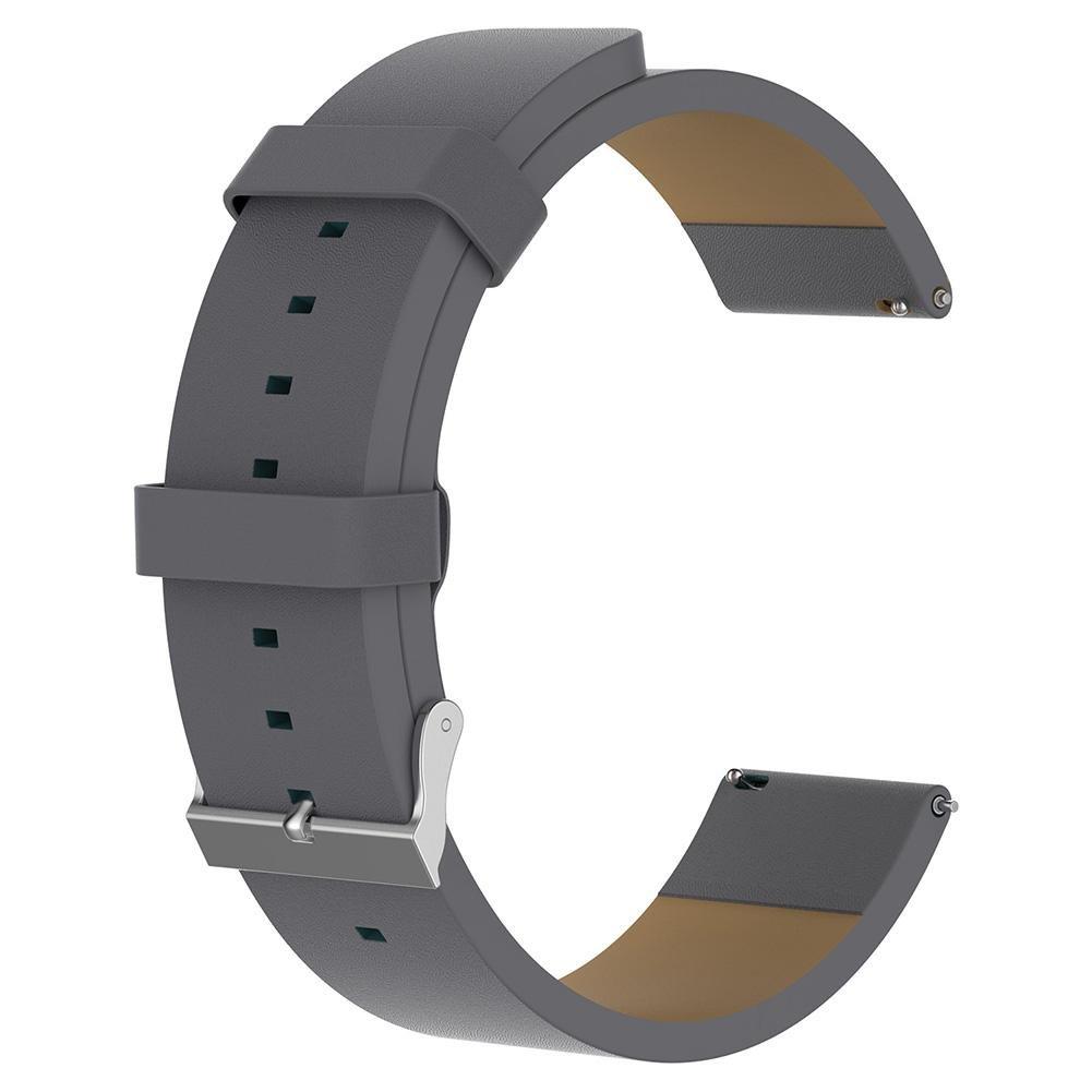 jocestyle Fitbit Versaバンド、スポーツレザー交換用ストラップバンド新しいFitbit Versa Smart Fitness Watch  グレー B07C7GJTF1